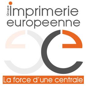 logo imprimerie européenne